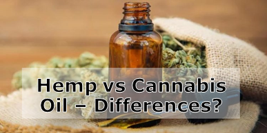 Hemp vs Cannabis Oil – Any Differences?